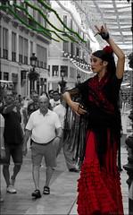 Flamenca (lautada) Tags: flamenco feria malaga andalucia fiesta spain espaa