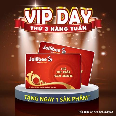 TƯNG BỪNG THỨ 3 - VIP DAY CHO CHỦ THẺ ƯU ĐÃI GIA ĐÌNH