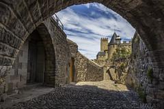 Carcassonne, Francia (kike.matas) Tags: canoneos6d kikematas canonef1635f28liiusm carcassonne francia france paisaje ciudad medieval castillo nubes piedras canon lightroom4