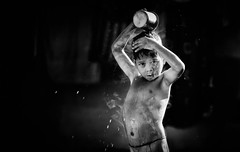 Bathing Boy (Padmanabhan Rangarajan) Tags: araku valley villagers rural bathing boy bath india