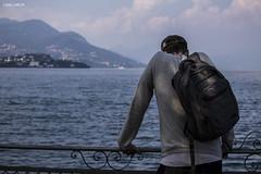 Thinking (PurpleTita) Tags: stresa lagomaggiore lago lake italy italia piedmont piemonte summer estate persona thinking pensando meditazione