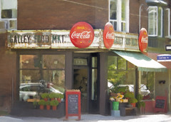 Galley Food Market (Hal Halli) Tags: toronto urban city roncesvalles canada market parkdale highpark to ontario cocacola