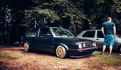 Volkswagen Golf MkII - (Rick Bruinsma) Tags: volkswagen golf mkii mk 2 bbs lm rs doorn zeist oem elite stance airride static nankang audi westmoreland gti us usa red black green oak