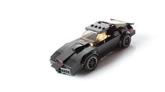KITT (with instructions!) (hachiroku24) Tags: lego kitt scifi car knight rider moc afol vehicle tv show pontiac firebird