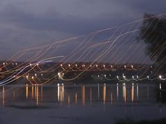 Lights. (nastyagaa) Tags: night river city lights