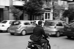 Thessaloniki rush hour (akis_zat) Tags: thessaloniki rushhour nikond5200 monochrome blackandwhite