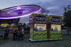 TICKETS (TAC.Photography) Tags: carnival 4thjuly carnivalrides baycitycarnival ticketbooth cliffhanger