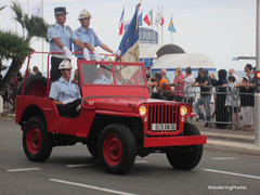Bastille Day Celebrations - Nice France (WanderingPhotosPJB) Tags: img france nice bastilleday parade firevehicle red