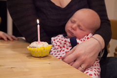 IMG_7692 (tompagenet) Tags: 1 alexander cake candle cupcake one onemonth