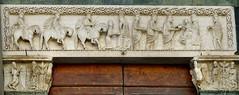 Pistoia - Sant'Andrea (Martin M. Miles) Tags: pistoia santandrea lombard longobard viafrancigena gruamonte adeodatus magi herod adorationofthemagi signature tuscany toscana toskana italy