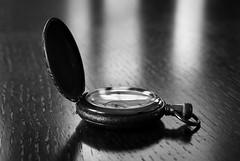Watch (Ian Stoll) Tags: blur bokeh black white bw watch time close up