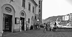 """The Place"" (giannipaoloziliani) Tags: giannipaoloziliani biancoenero monocromo piazza monochromatic blackandwhite place people nikoncamera italy camogli liguria country nikon landscape nikond3200 paese paesedimare sea mare tourists turisti persone view panorama shop pictures negozi sunlight lights vistamare seaview muri walls street flickr streetphoto streetphotography"