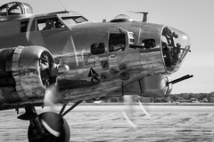 B-17 Flying Fortress (BRB1952) Tags: b17 b17gyankeelady yankeeairmuseum flyingfortress warbird willowrunairport