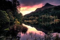 Glencoe, Scotland (mandyhedley) Tags: glencoe scotland lochs reflections water waterfall mountains hills clouds sunset sunrise landscape skies mountans rivers rocks beautiful