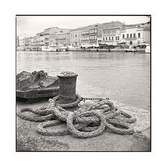 ropes  sete, france  2016 (lem's) Tags: ropes crodages dock quai port sete france zenza bronica s2