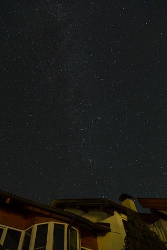 Sterne mit Haus