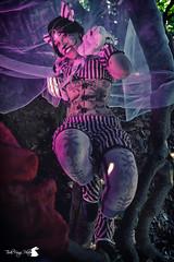 Stregatto Steampunk (TsukiUsagi Photo) Tags: valentina baldin ilaria barilla tsuki usagi photo cosplay steampunk stregatto cheshire cat alice wonderland paese meraviglie rosa marrone sorriso smile pink brown green verde foglie albero rami leaves tree branches gatto paws light luce