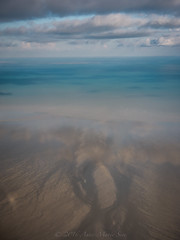 tideline (annems1) Tags: aerial flying reflection sea ocean water