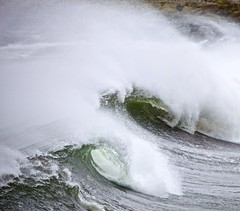 Broken heart (pauldunn52) Tags: waves spray breaking sea outer hebrides north uist scotland