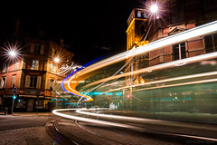 When I'm riding on that wing (OR_U) Tags: 2016 oru france strasbourg le longexposure night nightlights nightphotography tram traffic lighttrails city saintpierrelevieux yello lightpainting