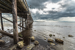 White Rock Pier, British Columbia (RussellK2013) Tags: d750 whiterock britishcolumbia canada pier water ocean sea seascape landscape landmark clouds shore shoreline nikon nikkor ngc 1635mmf4ged 1635mmf4vr 1635mm wideangle wide ultrawideangle uwa moody stormy