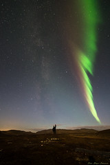 Milkyway and Northern Lights (johansenfoto) Tags: alta finnmark norway norge noreg nordlys northernlights auroraborealis milkyway melkeveien astro astrophotography