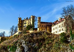 The Beauty Of Germany (Dominique.B88) Tags: 1855 blue caslte clearskies d5300 dslr germany lush mountains nature neuschwanstein nikon outdoor photography sky sunny travel trees gras