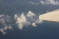 Over Jamaica (elyssa cupidore) Tags: plane flight kin yyz caribbean kingston jamaica