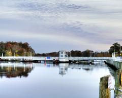 Pocomoke Bridge by Michael Galeone (AccessDNR) Tags: 2016 photocontest fall autumn scenery sceniclandscape pocomokeriver boats