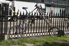 How? (oliva732000) Tags: custom bike bicycle tall metalworking cycling downtown boston massachusetts urban city bostoncommon tremontstreet