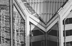 geometric landscape - Fill the frame ODC (Exdeltalady) Tags: landscape geometry bw architecture city urban building downtown sandiego highrise filltheframe odc