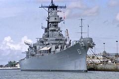 Big Mo (USS Missouri) (AntyDiluvian) Tags: hawaii 2001 30thanniversary oahu honolulu pearlharbor attack ussarizonamemorial ussarizona 12741 bigmo battleship missouri ussmissouri surrender