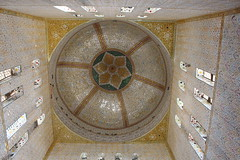 Tomb View from Inside (Omair Anwer) Tags: lucky shah sardar mazar tomb