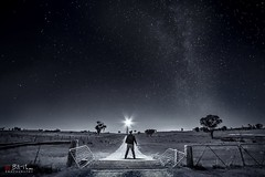 The Dark Road (Bill Thoo) Tags: thedarkroad obley nsw australia milkyway night sky stars road landscape travel monochrome blackandwhite sony a7rii samyang 14mm ngc explorer bush rural country