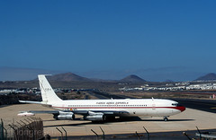 Adis (Longreach - Jonathan McDonnell) Tags: boeing nikoncoolscanved scan 2000s 2003 boeing707 t171 spanishairforce gcrr lanzarote t17 military ejrcitodelaire lanz007 019 canaryislands b707331b n8731 t17014510 fuerzaareaespaola