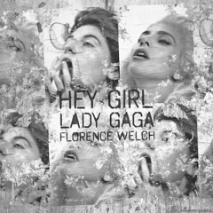 Lady Gaga - Hey Girl (feat. Florence Welch) (Noahs Covers) Tags: lady gaga florence welch machine hey girl joanne single cover album art artwork ep lp