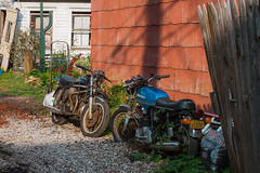 - (dirojas) Tags: canon 30d new york city 28135mm staten island ducati old motorbike