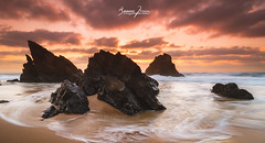 Going Home (enigmamcmxc) Tags: 2016 7d bruno canon enigmamcmxc pereira portugal going home adraga sintra beach sunset rocks sea sand nature explore sky amazing planet earth
