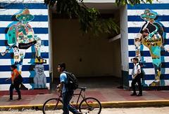 Sandino Vive in Painting (Agua Limpia) Tags: nicaragua león sandino street graffiti painting trip