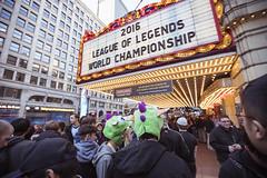Pre-show (lolesports) Tags: worlds leagueoflegends worldchampionship worlds2016 knockoutstage quarterfinals lolesports lol fans chicago illinois usa