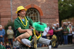 Wonder which one won the bet? (William & Mary Photos) Tags: select homecoming parade wm wmhc williamandmary williammary collegeofwilliamandmary collegeofwilliammary greenandgold alumni fall