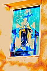 IMG_2030.jpg (Michael Ferranti Photography) Tags: bridge dog mountain mountains newmexico santafe bird church window cemetery car skull cross desert cattle flag chief prayer jesus pueblo peacock stainedglass hanuman gorge taos virginmary americanindian gothamayurveda michaelferrantiphotography mferrantiphoto