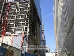 World Trade Center Spire - 18 (Eileen O'Donnell) Tags: nyc newyorkcity newyork manhattan worldtradecenter 911 wtc rebirth september11th reconstruction rebuilding raising freedomtower worldtradecenter1 canon7d copyrighteileenodonnellphotography