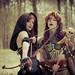 2013-04-21 Elf Fantasy Fair, edition Haarzuilens 2013, Puck & Tamara