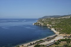 Aegean coast. 20/05/13. (pedallingfree) Tags: sea turkey coast aegean
