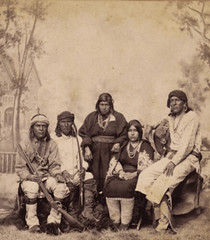 Laguna Indians - 1884 - New Mexico (B.Smile) Tags: indians animated gif stereograph bsmile