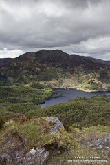 Ben Venue (DMeadows) Tags: trees lake water rock stone clouds forest scotland rocks ben stones heather hill hills loch venue trossachs aan katrine davidmeadows dmeadows davidameadows dameadows