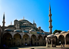 Sultan Ahmed Mosque, Istanbul Turkey (josecarlo1129) Tags: architecture turkey photography travels nikon istanbul mosque nikkor