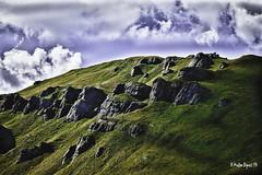 Montains, Val di Fassa (Tn) - Italy (Matteo Biguzzi [bigu77]) Tags: life park travel friends vacation sky cloud sun green colors rock skyline relax landscape country hills picnik canon1855 eos500d happinens