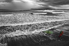 Salinas longboard (danielfi) Tags: costa beach coast surf asturias playa salinas longboard asturies